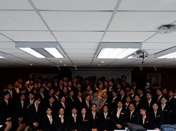 เข้าโครงการ Strengthening Professional Qualifications for 21st Century Graduates ประจำปีการศึกษา 2562 หัวข้อ